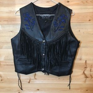 Unik Leather Vest